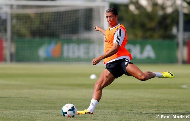 Cristiano Ronaldo a jeho priamy kop