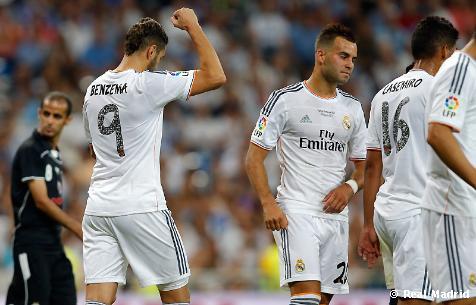 Benzema zaznamenal už svoj piaty gól v pohári Santiago Bernabéu