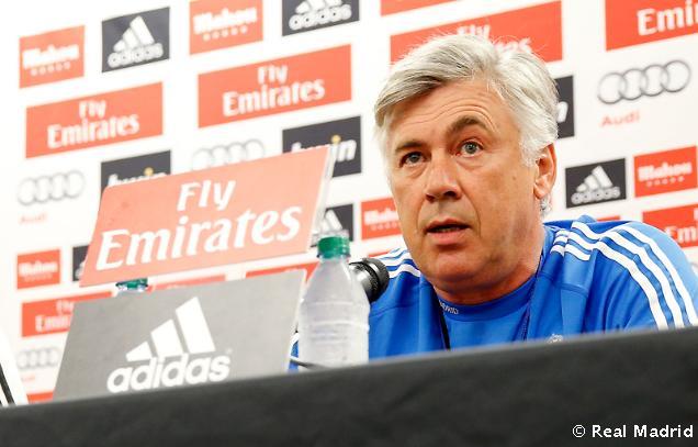 Ancelotti: Som spokojný s tímom. Máme mladý, dobrý a silný tím.