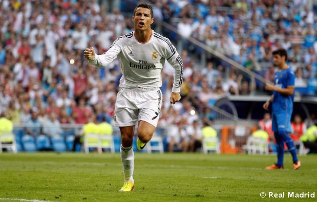 Cristiano Ronaldo je 5. najlepším strelcom Realu Madrid