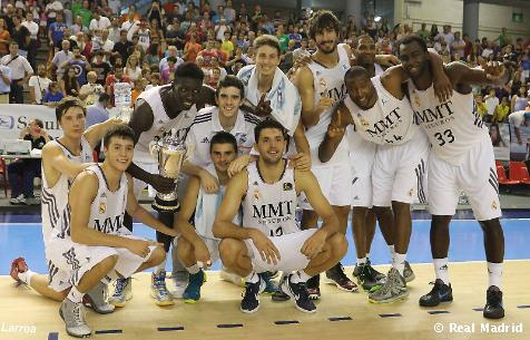 Real Madrid Baloncesto 86-64 Cajasol