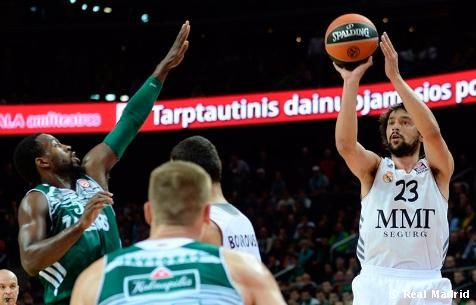 Zalgiris Kaunas 63-83 Real Madrid Baloncesto