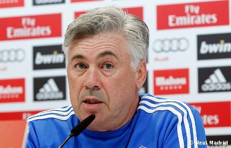 Ancelottiho rozhovor na tlačovej konferencii