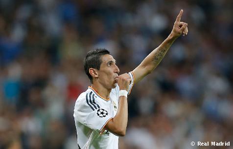 Di María odohral za Real Madrid už 150 zápasov!