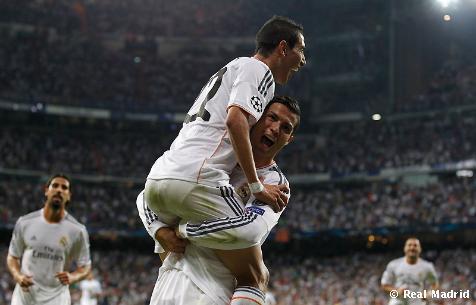 Real Madrid je najviac skórujúcim mužstvom LM 2013/14