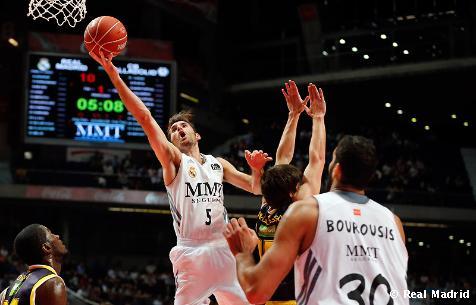 Real Madrid Baloncesto 87-53 C.B. Valladolid