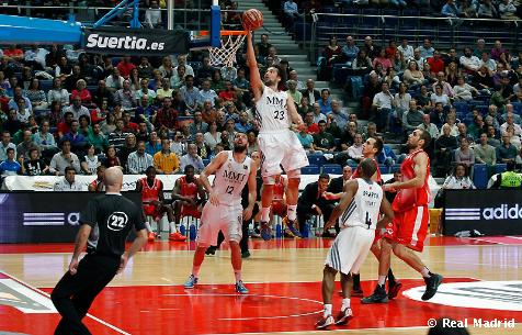 Real Madrid Baloncesto 111-63 Bruixa d`Or
