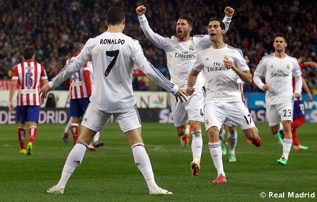 Ronaldo - postrach Atlética Madrid