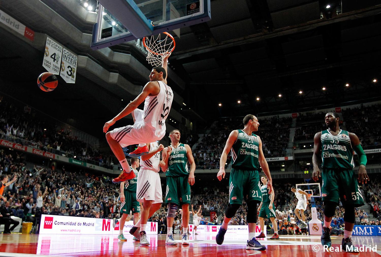 Real Madrid Baloncesto 108-72 Zalgiris Kaunas (video)