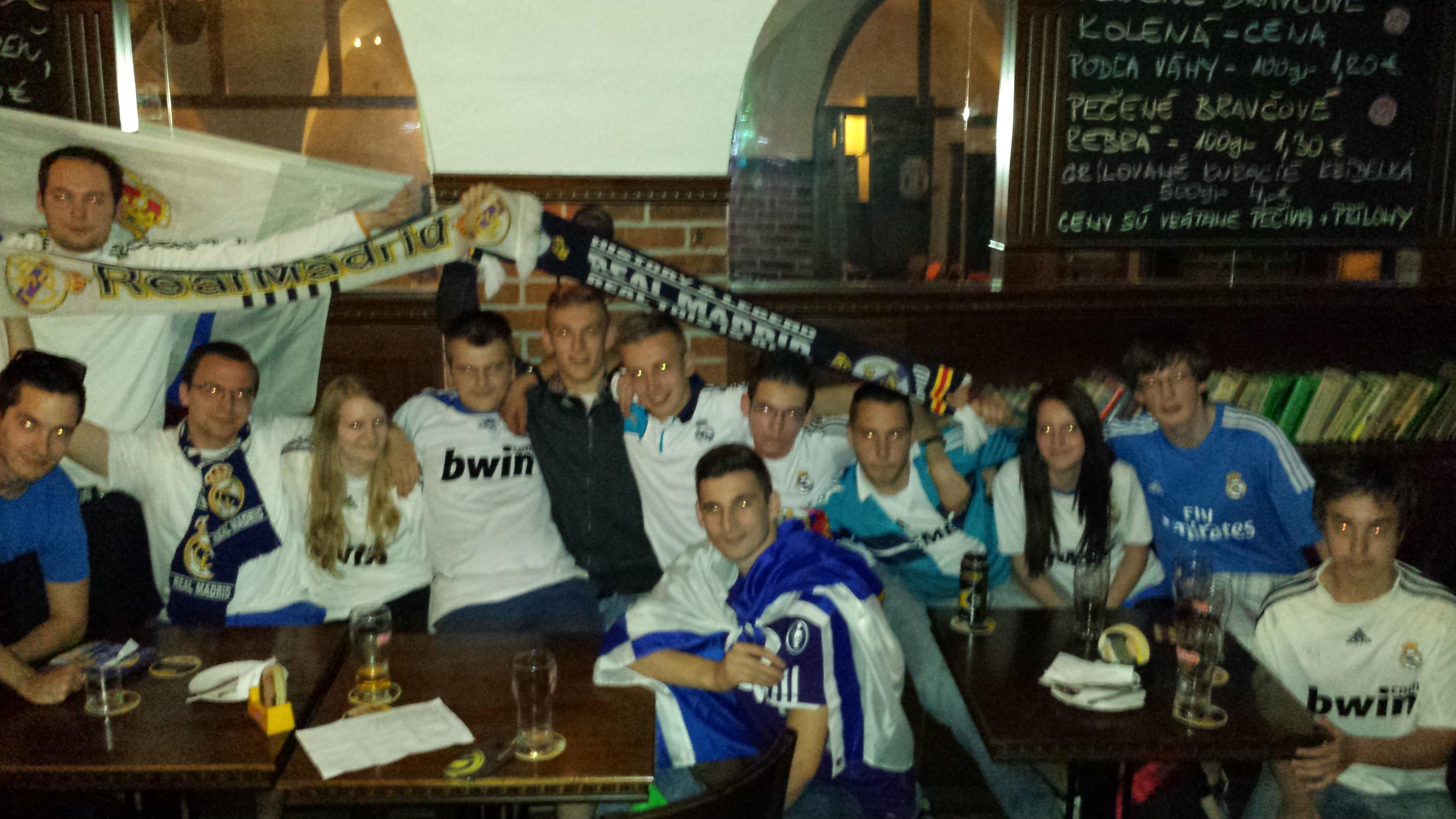 Report: Spoločné sledovanie finále Ligy majstrov