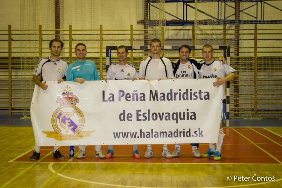 Druhý La Peña Madridista de Eslovaquia Cup klope na dvere