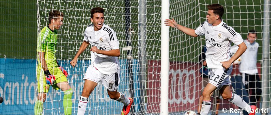 Report: Juniorská Liga Majstrov: Real Madrid- FC Basel