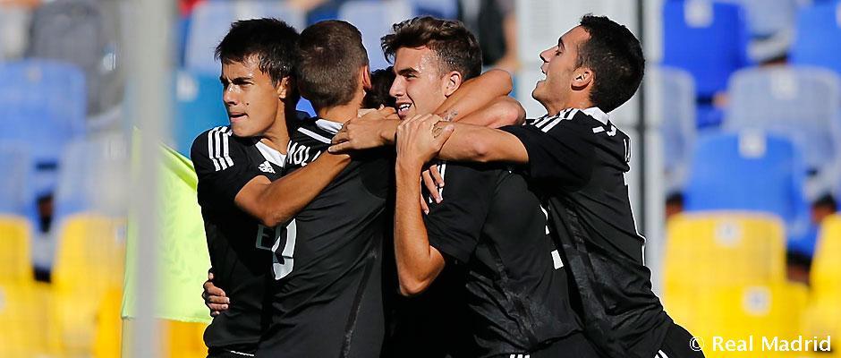 Report: Juniorská Liga Majstrov: Ludogorets Razgrad- Real Madrid