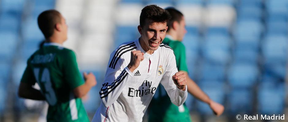 UEFA Youth League: Real Madrid 6-0 Ludogorets Razgrad