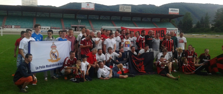 Fanklub HalaMadrid.sk na 1.Torneo MILAN CLUB D'EUROPA