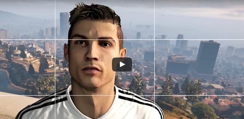 Cristiano Ronaldo v GTA V