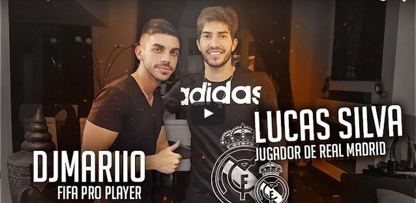 Lucas Silva si zahral FIFU 15 s profi hráčom