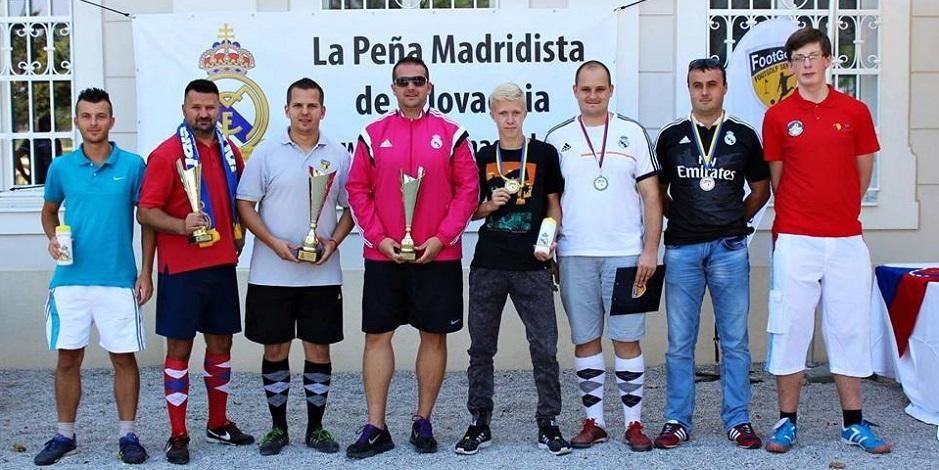 La Peña Madridista de Eslovaquia na Footgolfe