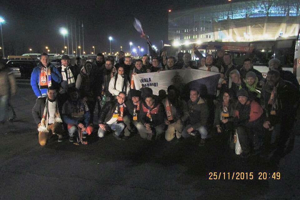 Fanklub si prvýkrát vychutnal atmosféru Ligy majstrov spoločným výjazdom
