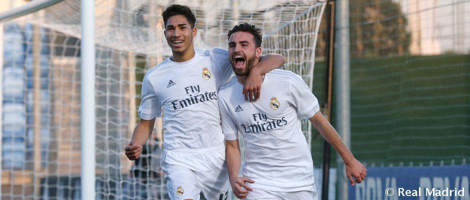 Real Madrid U17 postupuje medzi 8 najlepších v mládežníckej Lige majstrov. Zažiaril Mayoral