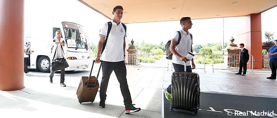 Aká je šanca, že James nastúpi proti Valladolidu?
