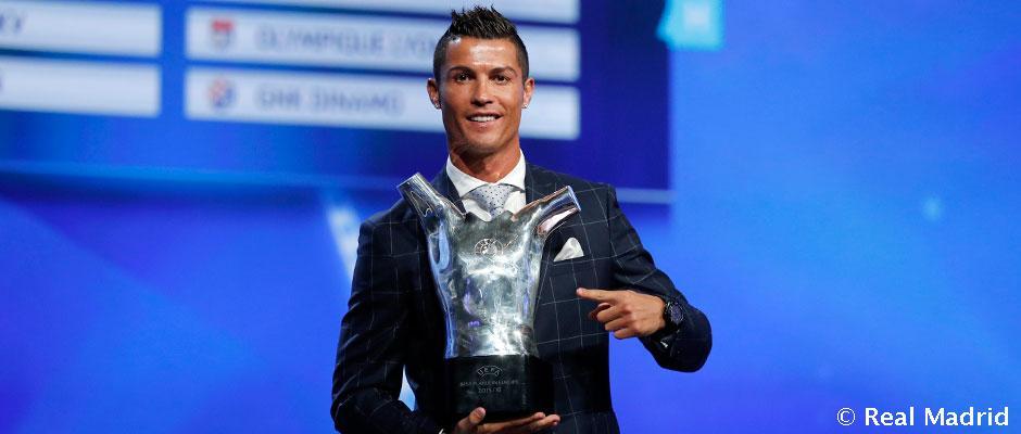 Ronaldo je opäť finalistom ocenenia UEFA hráč roka