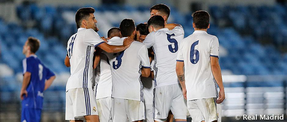 Castilla v treťom kole víťazne, doma zdolala Amorebietu 3-2
