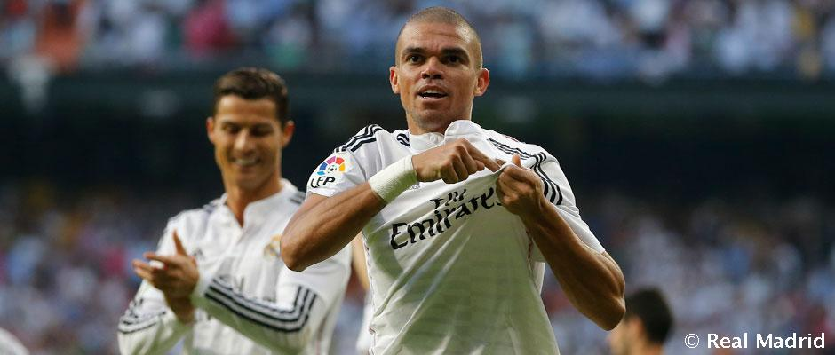 Pepe sa lúči s Realom Madrid
