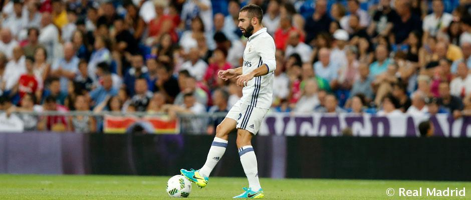 Carvajal, najlepší nahrávač Realu Madrid v tejto sezóne Ligy Majstrov