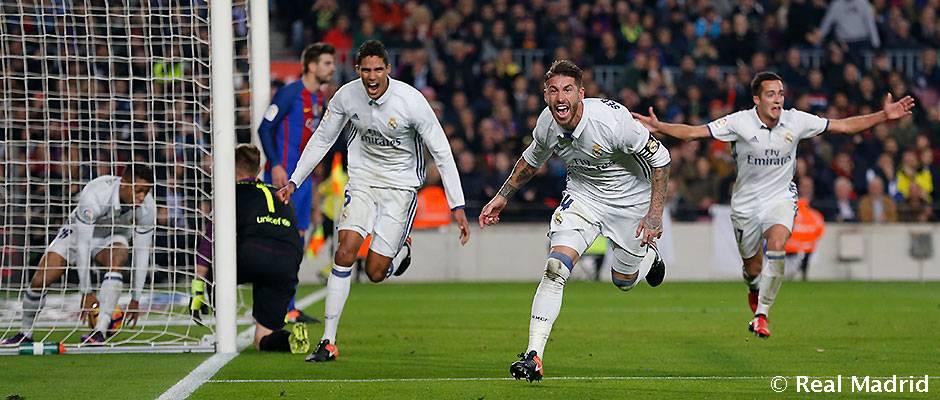 Sergio Ramos sa môže zapísať do dejín El Clásica