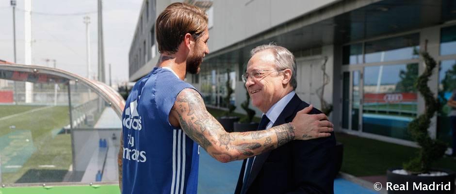Pérez Ramosovi: Ak dostaneš dobrú ponuku, pochopím tvoj odchod