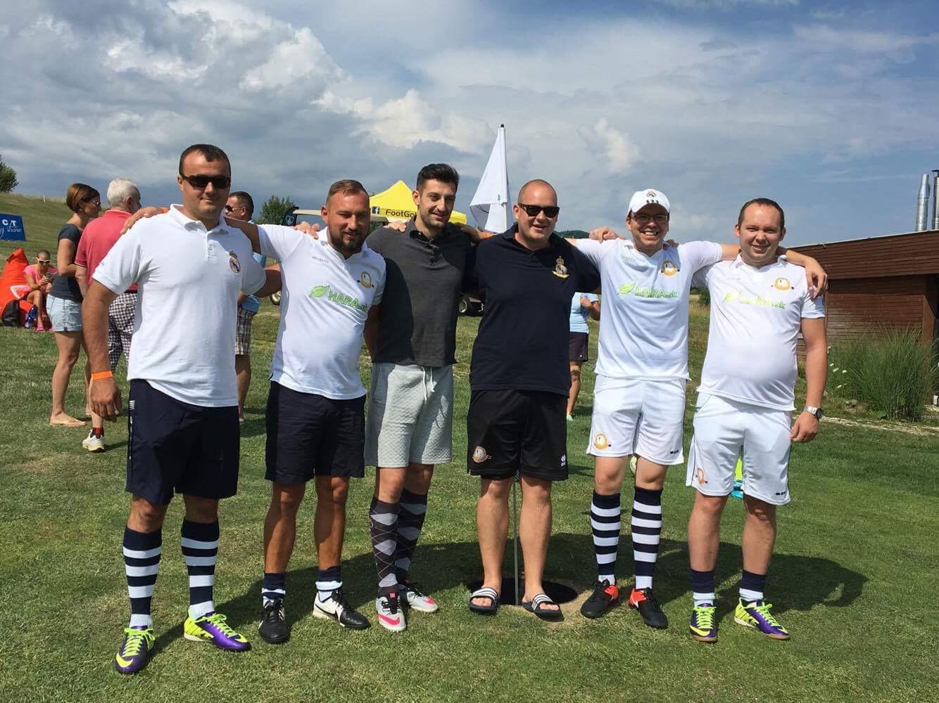 Footgolf a skvelý víkendový pobyt v Rajci za nami