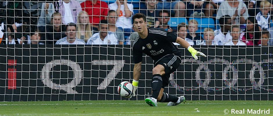 Luca Zidane sa zameriava na prvý tím