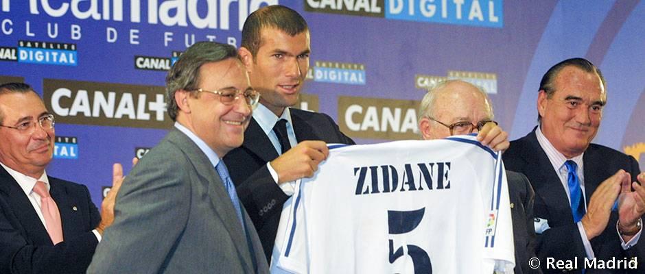 Pred 16 rokmi sa stal Zinedine Zidane hráčom Realu Madrid