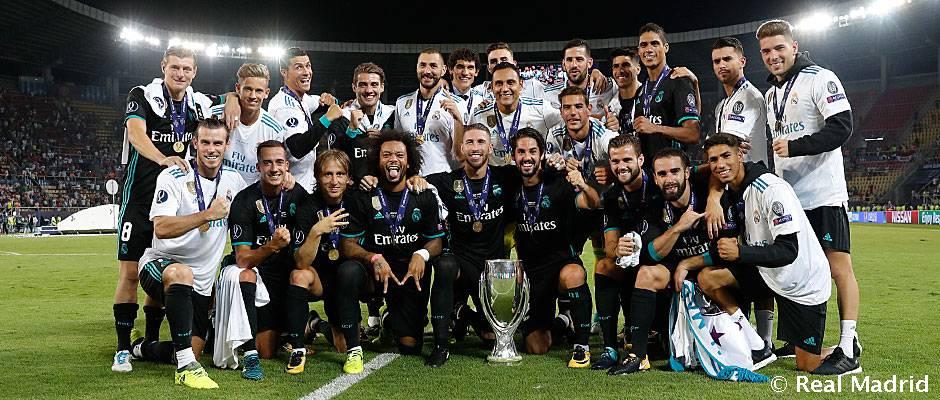 Real Madrid zvíťazil v 11. medzinárodnom finále v rade!