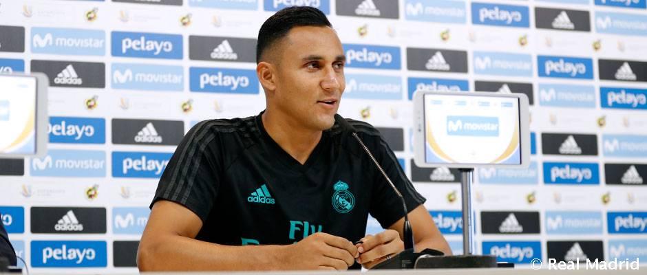 """Keylor Navas: """"Byť v Reale Madrid znamená bojovať o každý titul"""""""