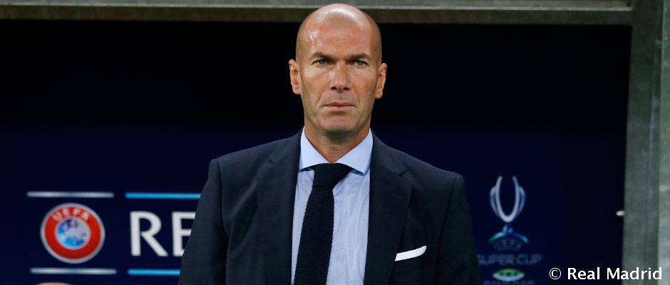 Zidane je prvý tréner, ktorý s Realom Madrid vyhral dvakrát európsky Superpohár