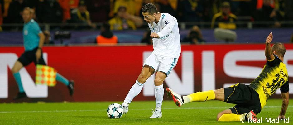 Ronaldo bol zvolený za hráča týždňa vLige majstrov