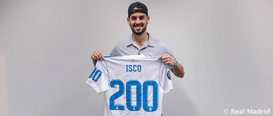 """Isco odohral za Real 200 zápasov: """"Je to pre mňa špeciálny deň"""