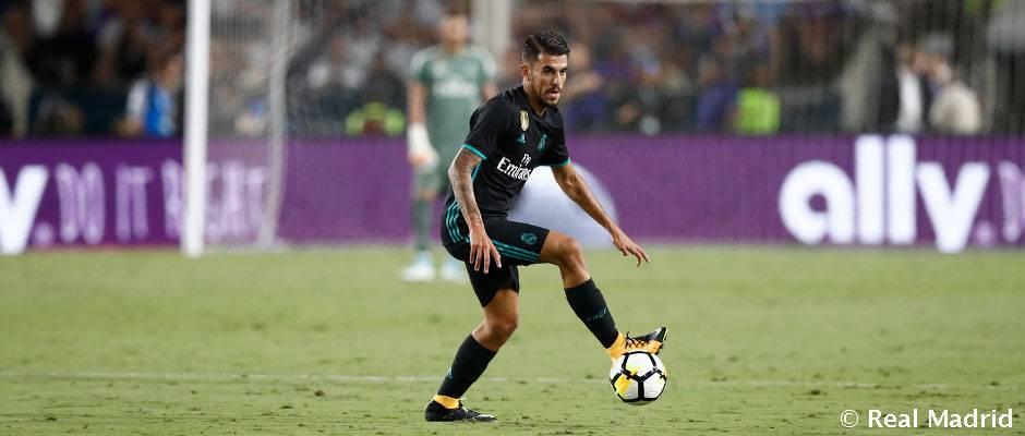 Ceballos sa tlačí do základnej zostavy proti Espanyolu