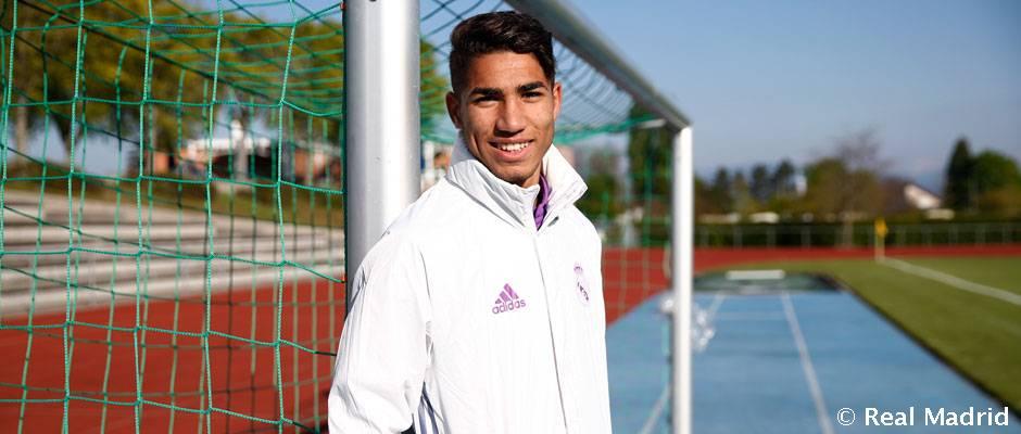 Achraf má to, čo chce Zidane