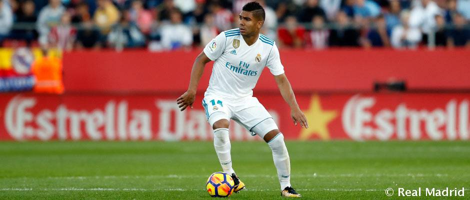 Casemiro povedie stredovú formáciu Realu Madrid