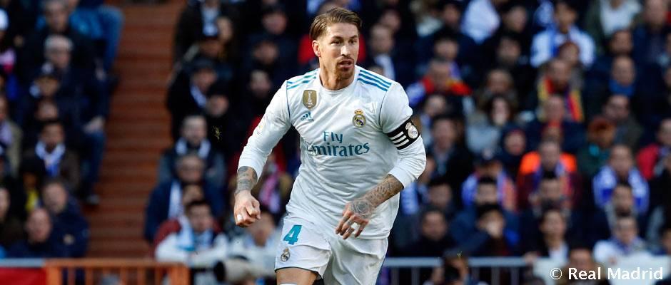 UEFA rozhodla o treste pre Sergia Ramosa