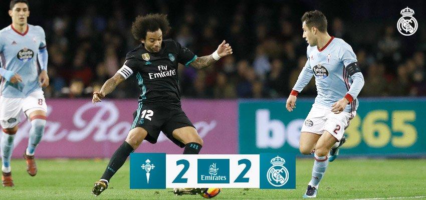 9df5fde466760 Real Madrid na Balaídos opäť stratil