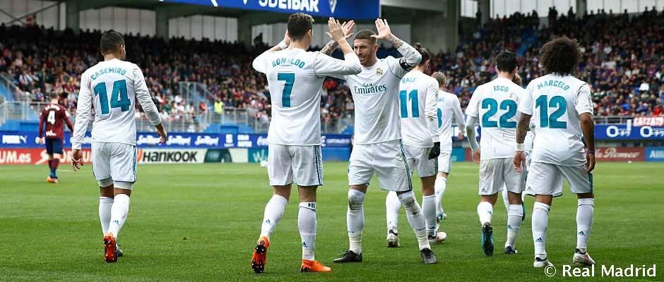HODNOTENIE HRÁČOV: Éibar 1-2 Real Madrid