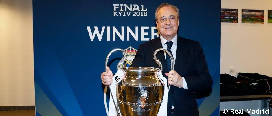 Florentino Pérez predal hráčov za skoro miliardu eur