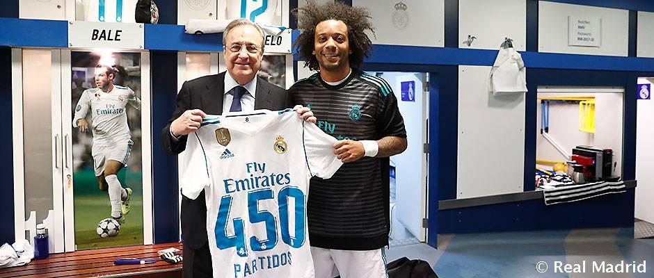 """Marcelo odohral za Real už 450 zápasov: """"Som veľmi rád, že hrám za najlepší klub na svete"""
