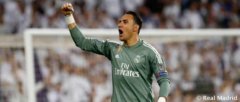 Štatistky Realu Madrid sú lepšie, keď chytá Keylor Navas