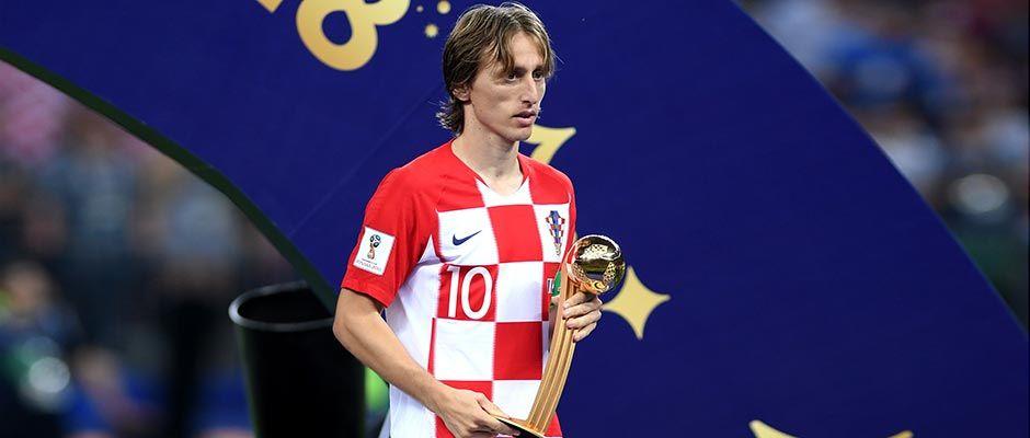 Modrić získal Zlatú loptu, ocenenie pre najlepšieho hráča MS vRusku