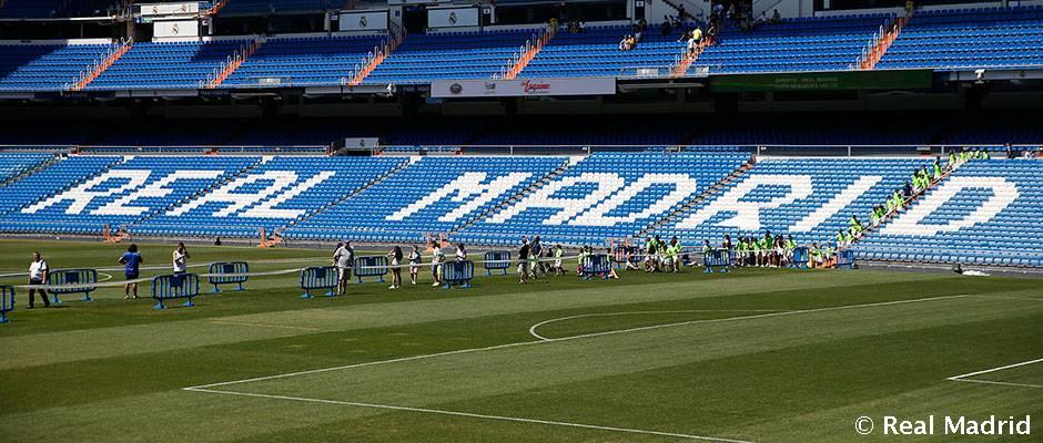 Prejdi sa po trávniku na Estadio Santiago Bernabéu, jedinečný zážitok bude dostupný iba do 29.7. 2018